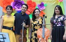 Atzimba trío en el homenaje a José Luis Cuevas