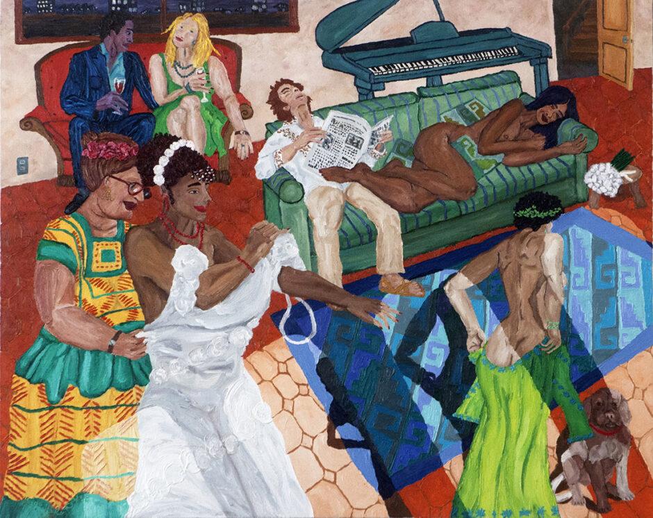 Hugo Velez, el artista que pinta la negritud en Oaxaca