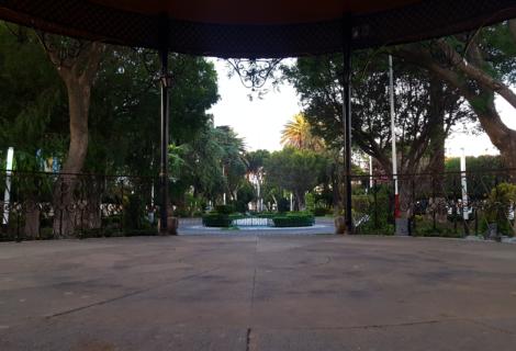 Jardín Municipal Constitución, Texcoco