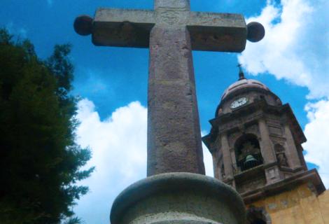 Cruz atrial de Tepetlaoxtoc