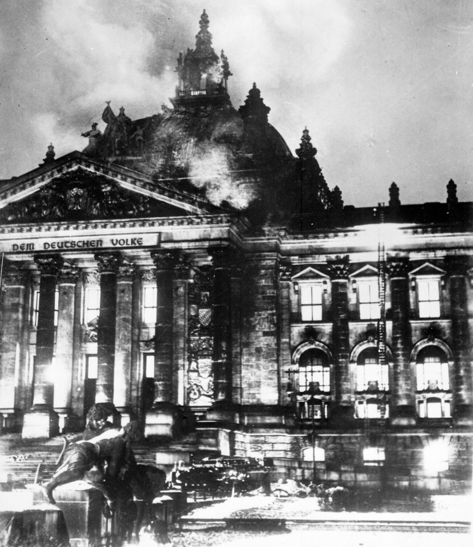 El incendio del Reichstag